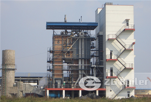 CFB boiler for fertilizer
