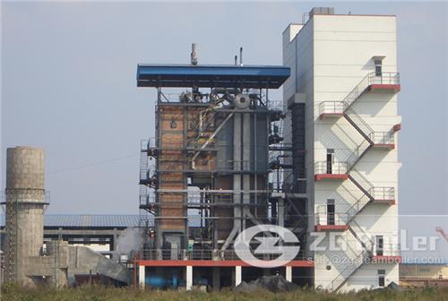 Fertilizer CFB boiler