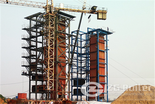 30MW coal fired power plant boiler image