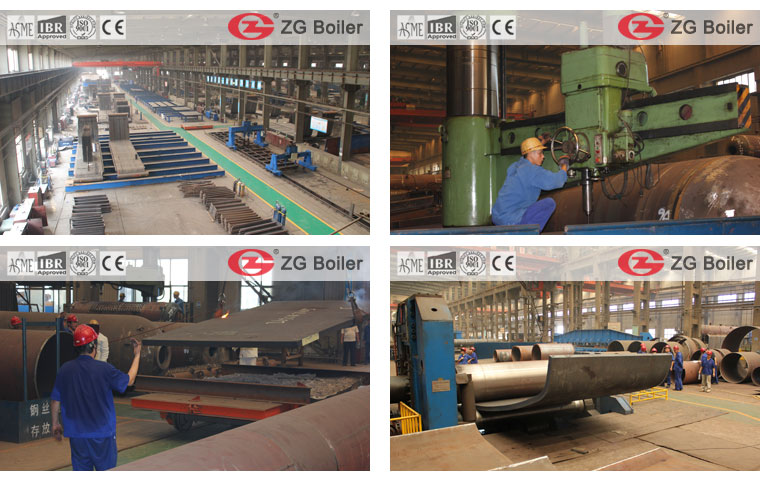Factory about Coal Fired Water Tube CFBC Boiler With 65 t/h Capacity supplier