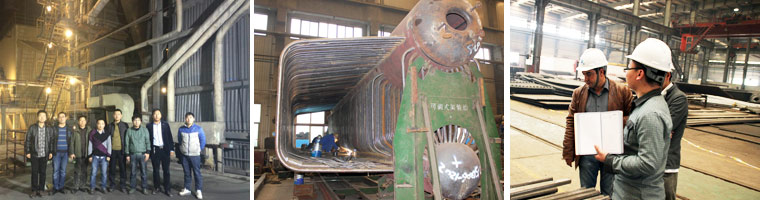 About Water-cooled circulating fluidized bed boiler service picture